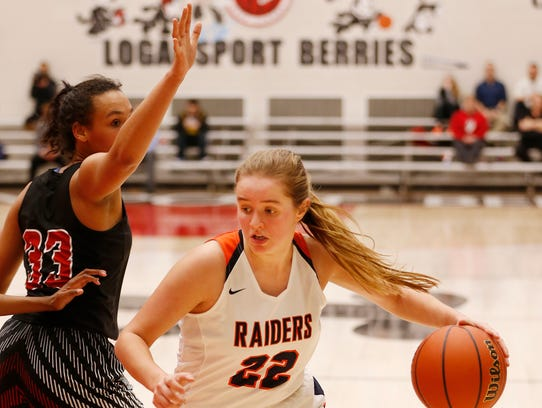 As a sophomore, Sydney Jacobsen was the area's top scorer, averaging 22.3 points per game.