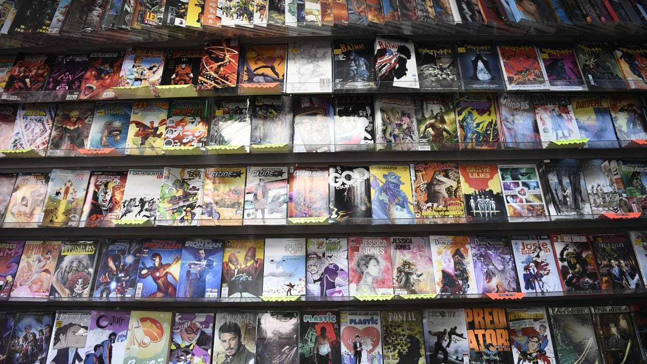 Sparta police probe comic art theft