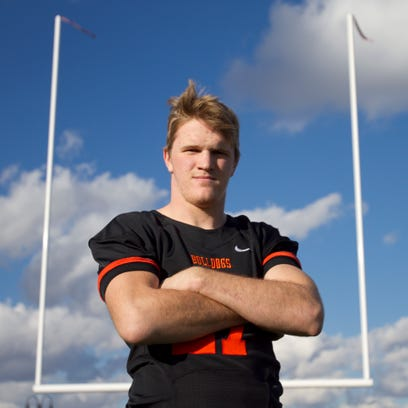 Brighton's Joey Clifford is the Football Offensive