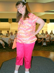 Katy Woleck, special populations program participant and part-time city of Cape Coral employee, was a models at the 2014 event.