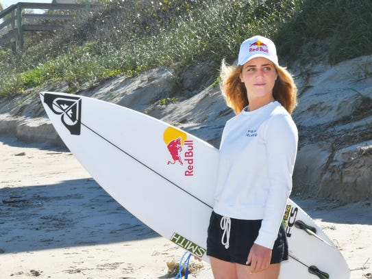 She's back in Brevard for the inaugural Florida Pro