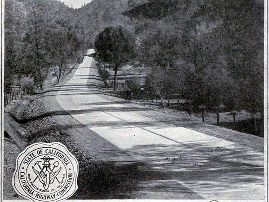 Highway 99 through the Mountain Gate area, north of