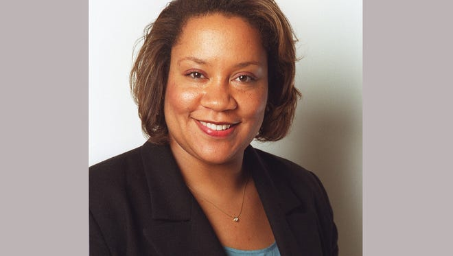 """This undated image shows Dana Canedy. author of """"A Journal for Jordan."""" Canedy, who won a Pulitzer Prize at The New York Times, was named administrator of the Pulitzer Prizes by the board and Columbia University in New York, which administers the prizes. She replaces Mike Pride, editor emeritus of the Concord Monitor in New Hampshire, and starts July 17.  (Naum Kazhdan/The New York Times via AP)"""