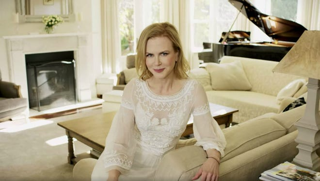 """Nicole Kidman stars in a new """"73 Questions"""" video for Vogue."""