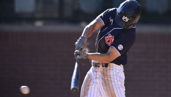 Auburn outfielder Jonah Todd was named Southeastern