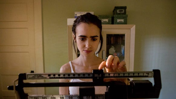Lily Collins in 'To the Bone.'