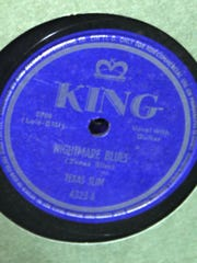 Among the 78's Darren and Jim Blase acquired from a