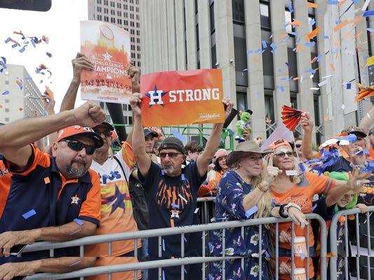 World Series Astros Parade Baseball