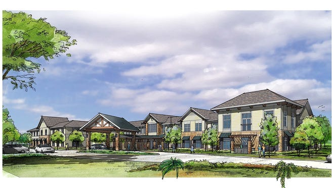 A rendering of The Solana Marlboro, an upscale assisted living community coming to the township in 2015.