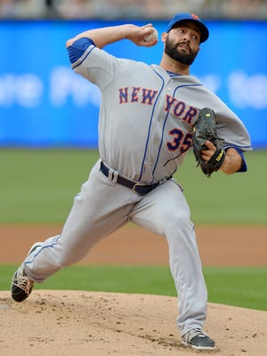 Mets right-hander Dillon Gee is 40-34 in his five-year big-league career.