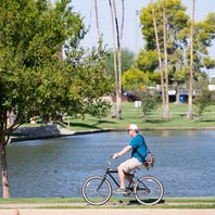 Bike paths around the Phoenix area