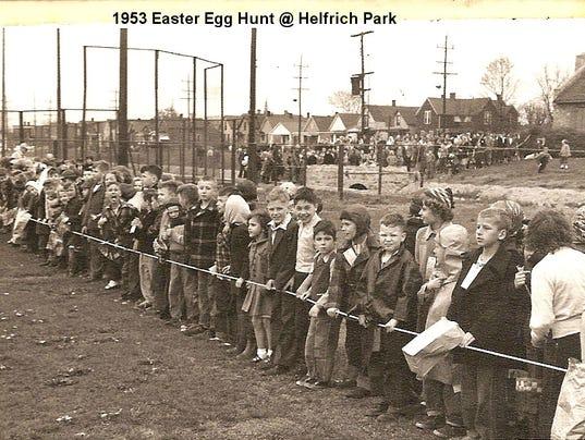 Easter Egg Hunt 1953