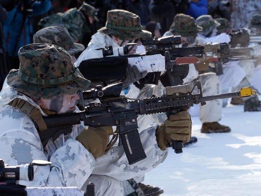 AP SOUTH KOREA US WINTER EXERICSE I KOR