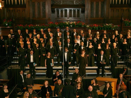 Fort Street Chorale Messiah concerts, Dec. 3 & 4, 2016