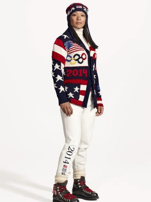 The Winter Olympics in Sochi, Russia, are only a few weeks away, which means it's time to see which countries will wear what during the opening ceremony. Team USA has once again tapped iconic American designer Ralph Lauren to design uniforms for both the opening and closing ceremonies. Here's a look at Lauren's new outfits and a rewind to past uniforms. Olympian Julie Chu (women's hockey) wears the new 2014 USA Winter Olympic uniform.