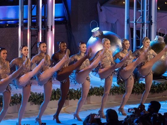 The Rockettes perform during the 85th annual Rockefeller