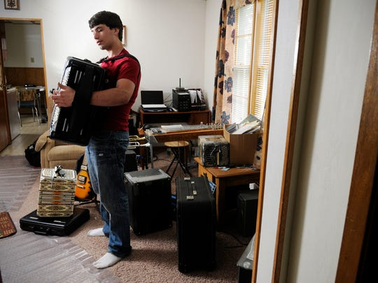 Nathan Neuman is self-taught; he gives full credit to a few instruction books and the Internet