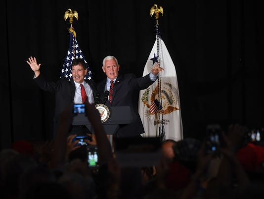 Vice President Pence visits Newark