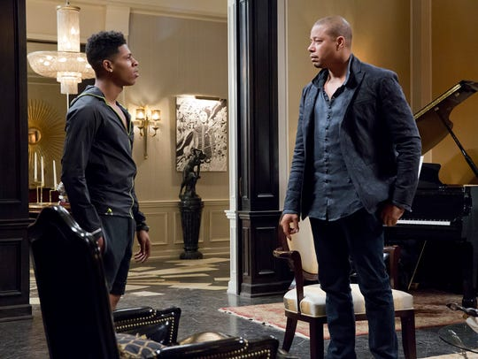 Bryshere Gray and Terrence Howard in the 'A High Hope