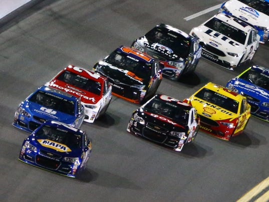 2-16-2017 nascar cup stages