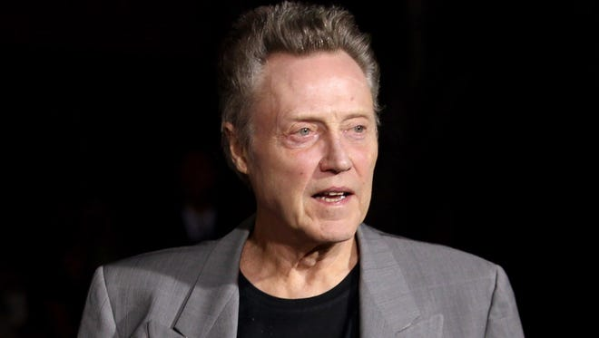 Christopher Walken in a 2012 file photo. NBC says Christopher Walken will play Captain Hook in the network's live version of 'Peter Pan.'