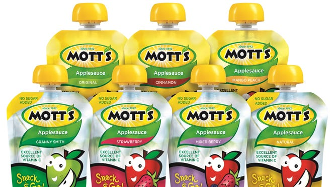 """Mott's Williamson plant is expanding as the company, a brand of the Texas-based Dr Pepper Snapple Group, boosts its production of """"Mott's Snack & Go Pouches."""""""