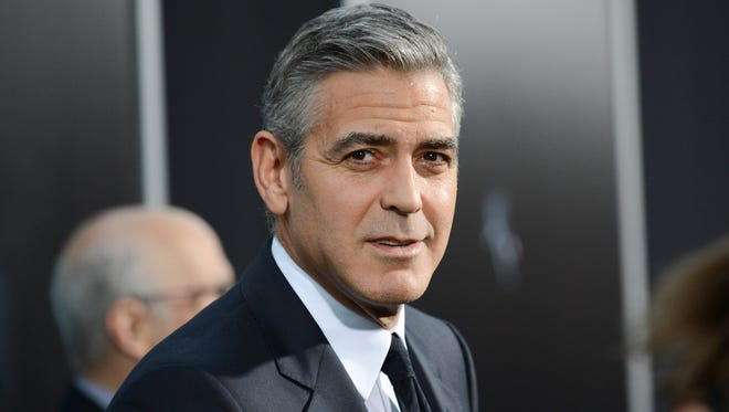 George Clooney on Oct. 1, 2013.