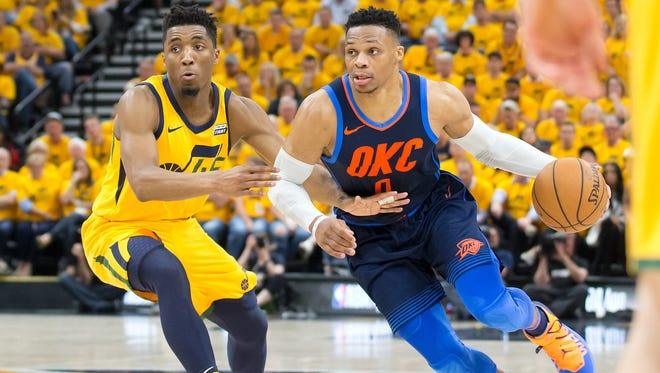 Thunder guard Russell Westbrook didn't back down from his comments about Utah Jazz fans.