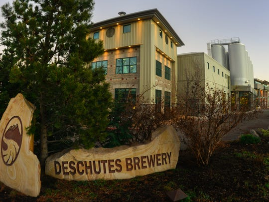 Deschutes Brewery in Bend is a fun place to stop for