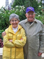 John D. Graham with his wife, Faye, in 2006. Graham died Thursday at age 90.