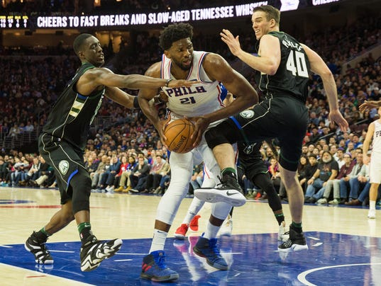 NBA: Milwaukee Bucks at Philadelphia 76ers