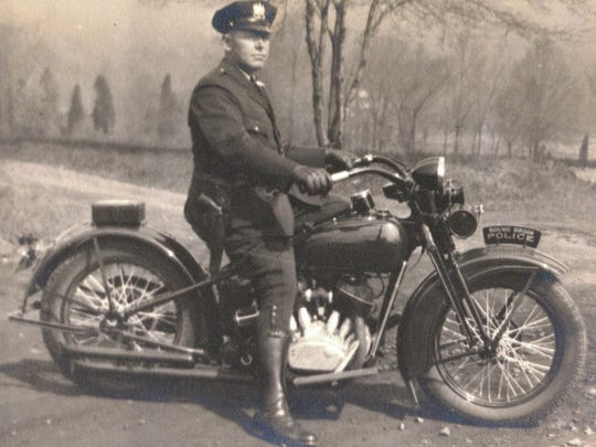 Bound Brook Police Department Bound Brook motorcycle officer Samuel J. Kriney died after being injured in an accident as he was chasing a speeder in 1931. As part of an upcoming Make a Difference Day activity, community members are cleaning up a community park that they want to rename in his honor.