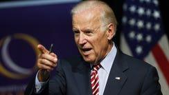 Vice President Joe Biden speaks during a roundtable