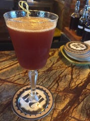 Under A Cherry Moon, a cocktail at Mill House Brewing Company.