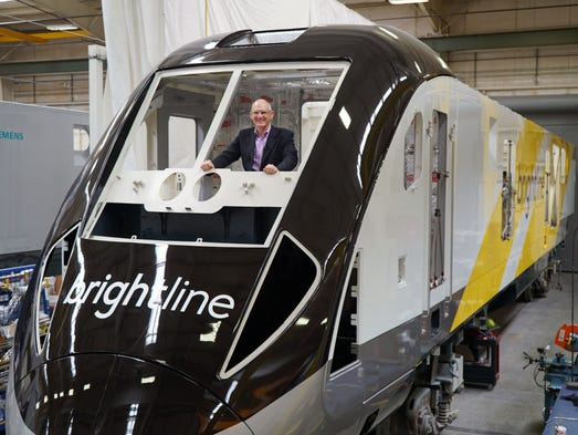 Michael Reininger, the president of Florida-based Brightline,
