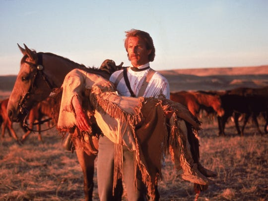 Kevin Costner won two Oscars, including best director, for the 1990 Western 'Dances With Wolves.'