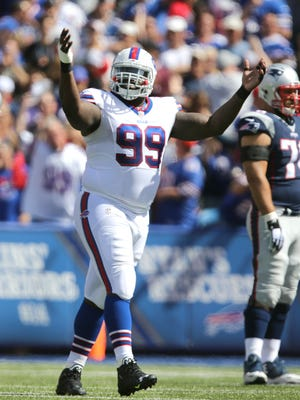 Bills Marcell Dareus and the rest of the the defensive line was kept in check by most teams in 2015.