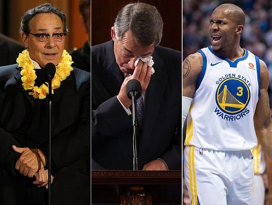 L to R: Robert Romanus, John Boehner and David West.