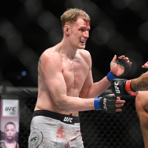 UFC Fight Night: Alexander Volkov KOs Fabricio Werdum to stay perfect in UFC