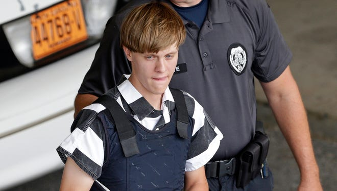 Dylann Roof in Shelby, N.C., on June 18, 2015.