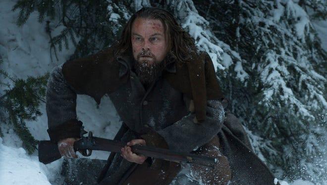 Leonardo DiCaprio stars as legendary frontiersman Hugh Glass in 'The Revenant.'
