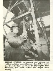 A photo from the July 20, 1979 edition of Salute showing