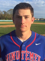 Alex Gattinelli went 3-for-3 with a walk, double and two RBIs for Washington Township.