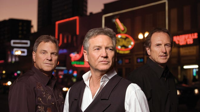 Larry Gatlin & The Gatlin Brothers. From left: Steve, Larry and Rudy.