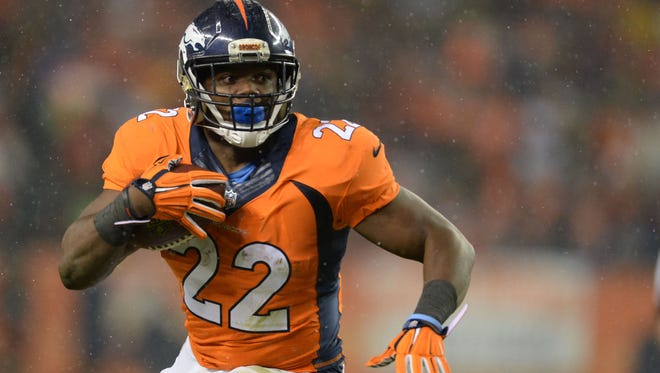 Broncos RB C.J. Anderson will make $6 million in 2016.