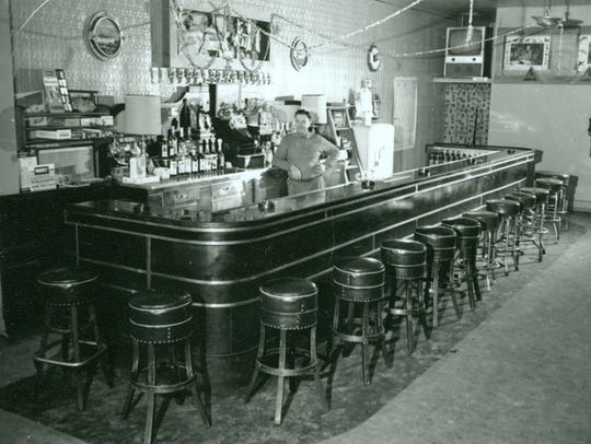This interior image of the bar was taken in August