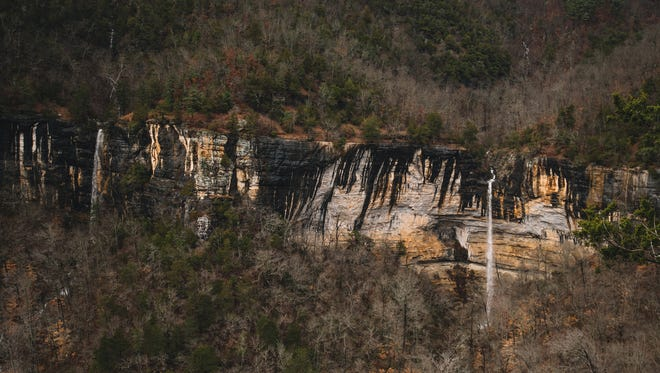 A man's body was found Feb.25 above Hemmed-in-Hollow waterfall  in Newton County, Arkansas.