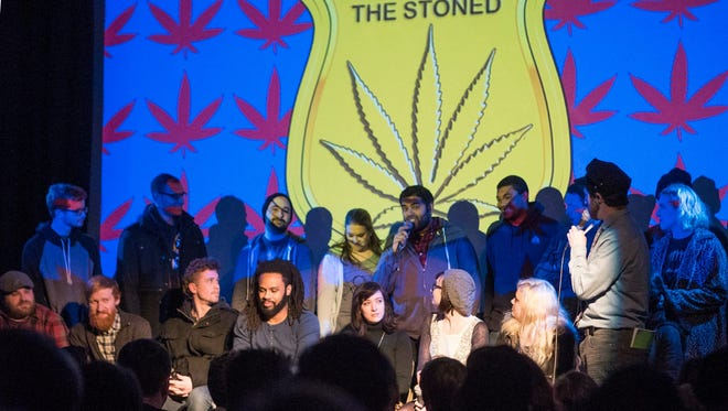 "Philadelphia-based marijuana-themed game show ""Weeding Out the Stoned"" is coming to Wilmington this weekend."