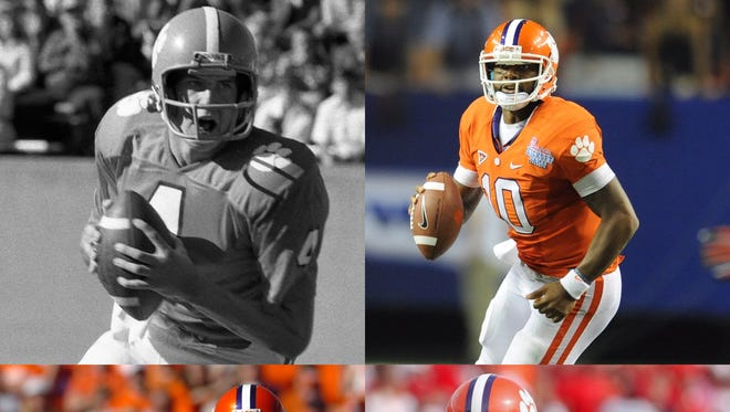 If you could only chose three of these Clemson Tigers quarterbacks, who would you leave off?