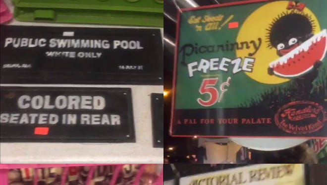 Organizers of the Ducktail Run Rod and Custom Car Show say the vendor selling these racist signs has been banned for life